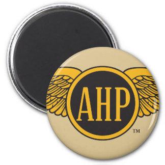 Ailes d'AHP - couleur Magnet Rond 8 Cm