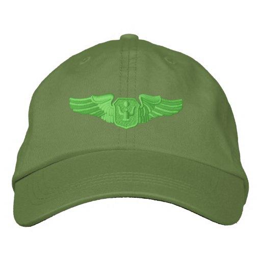 Ailes d'aviateur casquette brodée