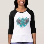 Ailes de cool de Cancer ovarien T-shirt