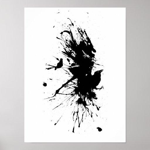 Ailes de peinture posters zazzle - Poster peinture ...