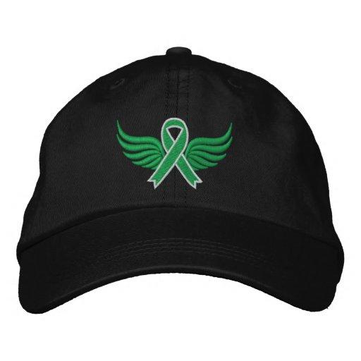 Ailes de ruban d'infirmité motrice cérébrale casquette de baseball brodée