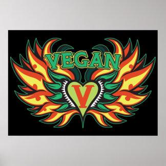 Ailes végétaliennes affiches