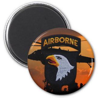 Aimant 101st Division Aéroportée de division d'ABN criant