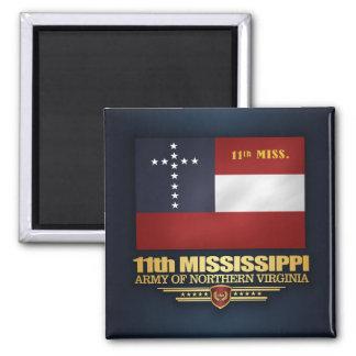Aimant 11ème Infanterie du Mississippi