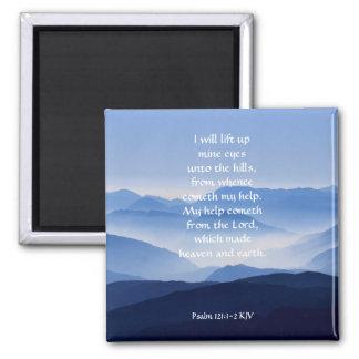 Aimant 121:1 de psaume - 2 mon cometh d'aide du SEIGNEUR
