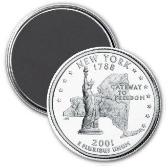 Aimant 2001 de quart de l état de New-York