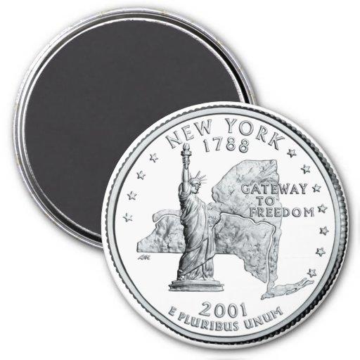 Aimant 2001 de quart de l'état de New-York
