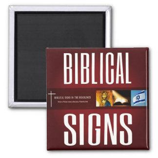 Aimant 2018 biblique de logo de signes
