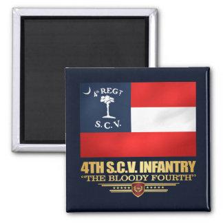 Aimant 4ème Infanterie de la Caroline du Sud