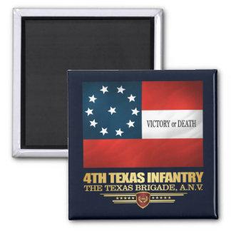 Aimant 4ème Infanterie du Texas