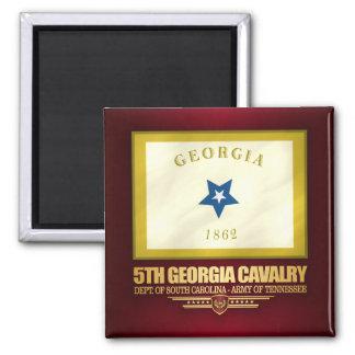 Aimant 5ème Cavalerie de la Géorgie