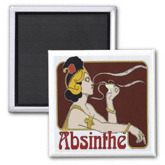 Aimant Absinthe, siroter de femme