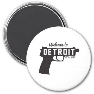 Aimant Accueil à la serrure et à la charge de Detroit
