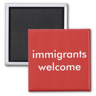 Aimant accueil d'immigrés