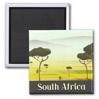 Aimant Affiche sud-africaine de voyage de soirée de