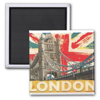 Aimant Affiche vintage de Londres