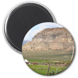 Aimant Agriculture du pays et des collines, l'Utah du sud