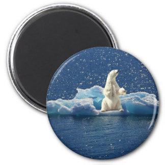 Aimant Ajoutez le SLOGAN pour sauver la glace arctique de