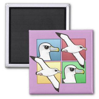 Aimant Albatros de quatre couleurs