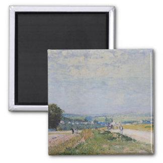 Aimant Alfred Sisley | la route à Montbuisson