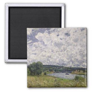 Aimant Alfred Sisley   la Seine chez Suresnes