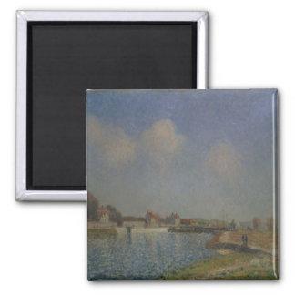 Aimant Alfred Sisley | le Loing au Saint-Mammes