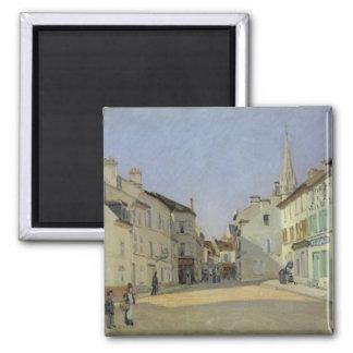 Aimant Alfred Sisley | Rue de la Chaussee à Argenteuil