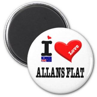 Aimant ALLANS PLAT - amour d'I