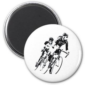 Aimant Allez à vélo les coureurs dans le tour