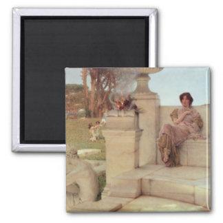 Aimant Alma-Tadema | la voix de Spring, 1908