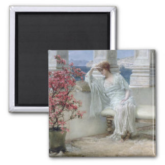 Aimant Alma-Tadema | ses yeux sont avec son thoughts�