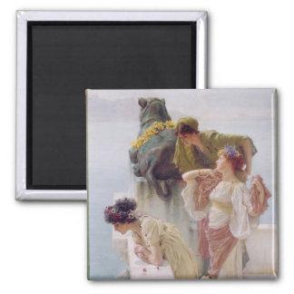 Aimant Alma-Tadema | un Coign d'avantageux, 1895