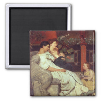 Aimant Alma-Tadema | une famille romaine, 1867