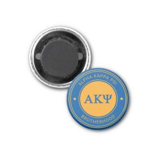 Aimant Alpha insigne de livre par pouce carré   de Kappa