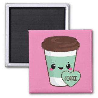 Aimant Amant d'Emoji de café