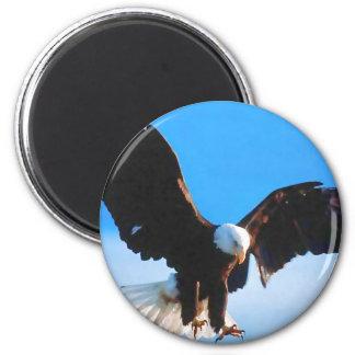 Aimant Américain chauve Eagle