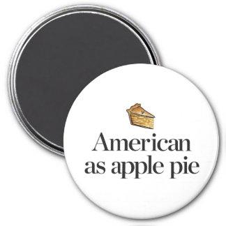 Aimant Américain comme tarte aux pommes
