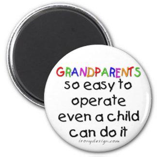 Aimant Amour de grands-parents