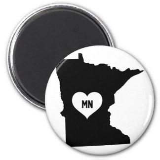 Aimant Amour du Minnesota