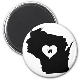 Aimant Amour du Wisconsin