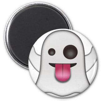 Aimant Amusement frais d'Emoji de fantôme effrayant