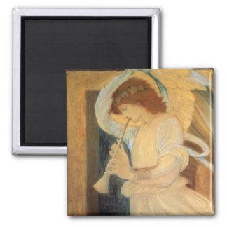 Aimant Ange jouant le flageolet par Burne Jones