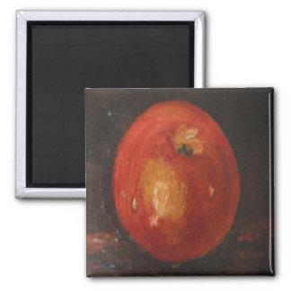 Aimant Ann Hayes peignant Apple