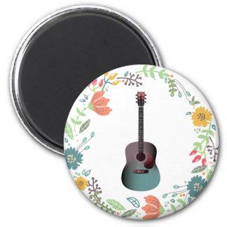 Aimant Anneau de fleur de guitare