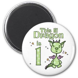 Aimant Anniversaire de dragon de Lil ęr