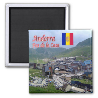 Aimant ANNONCE - Andorre - panorama
