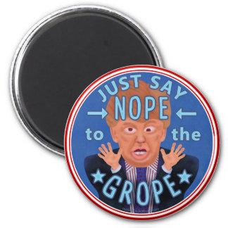 Aimant Anti élection 2016 de Donald Trump Nope au
