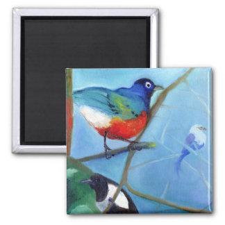 Aimant Arbre complètement des oiseaux 2012