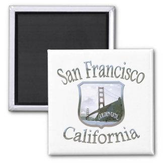 Aimant Argent de San Francisco la Californie