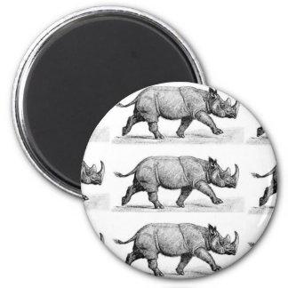 Aimant Art courant de rhinocéros
